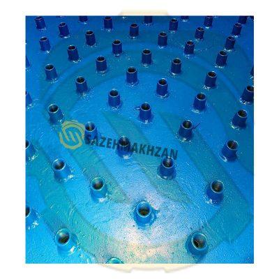 نازل-های-فیلتر-شنی-فلزی-سازه مخزن